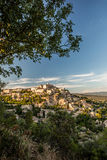 View of Gordes Stock Photo