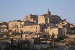 View of Gordes Village; France Royalty Free Stock Photography