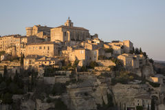 View of Gordes Village; France Royalty Free Stock Images