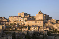 View of Gordes Village; France Royalty Free Stock Photos