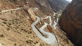 View gorges du dades ,tinerhir,morocco. stock photography