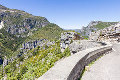 View of the Gorges du Verdon, France Royalty Free Stock Photo