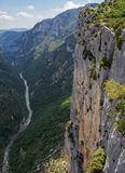 View of Gorges of Verdone - France Royalty Free Stock Photos