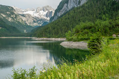 View of Gosausee, Austria Royalty Free Stock Photography