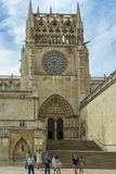 Cathedral in Burgos, Spain Stock Images