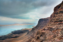 View on Graciosa Stock Photography