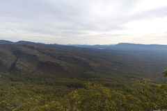 View of the Grampians National Park Stock Image
