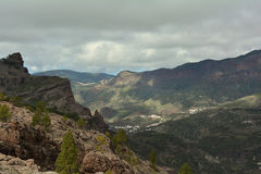 View from Gran Canaria Mountains Royalty Free Stock Image