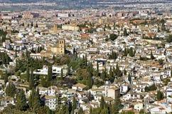 View of Granada Stock Photography