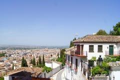 View of Granada Stock Photo