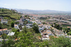 View of Granada Stock Photography