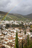 Granada after rain Royalty Free Stock Photos