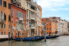 View of the Grand Canal, Venice Royalty Free Stock Images