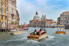 View of the Grand Canal Venice Stock Photos
