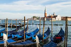 View of the Grand Canal in Venise Royalty Free Stock Photo