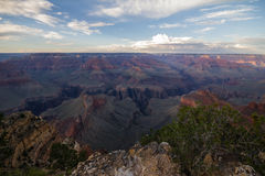 View on Grand Canyon in the afternoon, USA Royalty Free Stock Photography