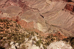 View of the Grand Canyon Stock Photography