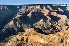 View into the grand canyon from mathers point. Fantastic view into the grand canyon from mathers point, south rim stock photo