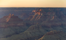 View into the grand canyon from mathers point, south rim. Fantastic view into the grand canyon from mathers point, south rim royalty free stock image
