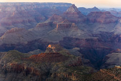 View into the grand canyon from mathers point, south rim. Fantastic view into the grand canyon from mathers point, south rim royalty free stock images