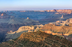 View into the grand canyon from mathers point, south rim. Fantastic view into the grand canyon from mathers point, south rim Stock Photos