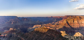 View into the grand canyon from mathers point, south rim. Fantastic view into the grand canyon from mathers point, south rim Stock Images