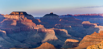 View into the grand canyon from mathers point, south rim Stock Photo