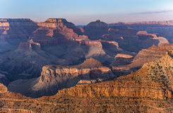 View into the grand canyon from mathers point, south rim Royalty Free Stock Image