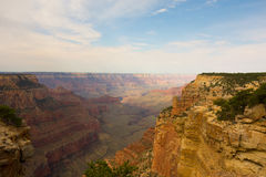 A view of the grand canyon from the north rim Royalty Free Stock Photo