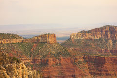 A view of the grand canyon from the north rim Stock Images