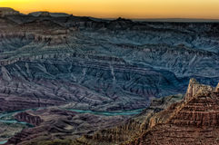 View of Grand Canyon and River Royalty Free Stock Image