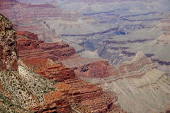 View into the Grand Canyon Stock Photography
