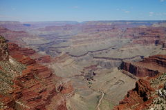 View into the Grand Canyon Royalty Free Stock Images