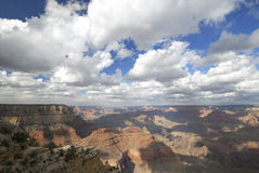 View of the Grand Canyon after storm Royalty Free Stock Photo
