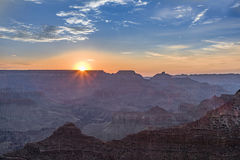 View into the grand canyon from Yaki point, south rim. Fantastic view into the grand canyon from Yaki point, south rim Stock Images