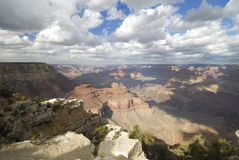 View of the Grand Canyon from Yavapai Point Stock Image