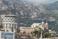 View of Grand Casino in Monte Carlo, Monaco Stock Photos