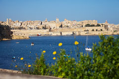 View of Grand Harbour Stock Image
