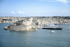 View Of Grand Harbour, Valletta. Malta Royalty Free Stock Image