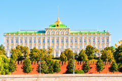 View of the Grand Kremlin Palace. Stock Photos