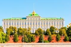View of the Grand Kremlin Palace. Stock Photos