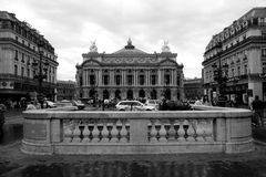 View of the Grand Opera in Paris. 12 August, 2006. royalty free stock photos