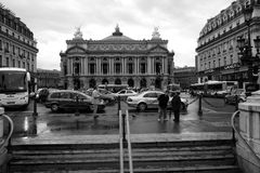 View of the Grand Opera in Paris. 12 August, 2006. stock image