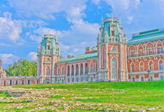 View of Grand Palace. In Tsaritsino, Moscow, Russia, East Europe royalty free stock photo