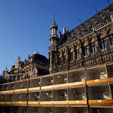 A view of the Grand Place in Brussels, Belgium Royalty Free Stock Image