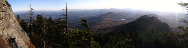 View from Grandfather Mountain Stock Image
