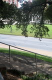 View From The Grassy Knoll Stock Photo