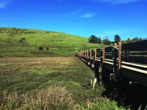 Wetlands in the San Francisco Bay Area stock images