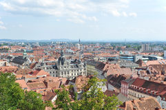 View of Graz Royalty Free Stock Images