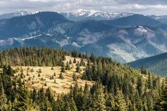 View from Great Fatra range, Slovakia Royalty Free Stock Photo